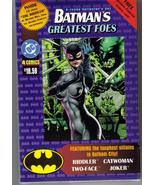 DC Batman's Greatest Foes Collector's Set Extremely Rare! Catwoman Batman - $99.95