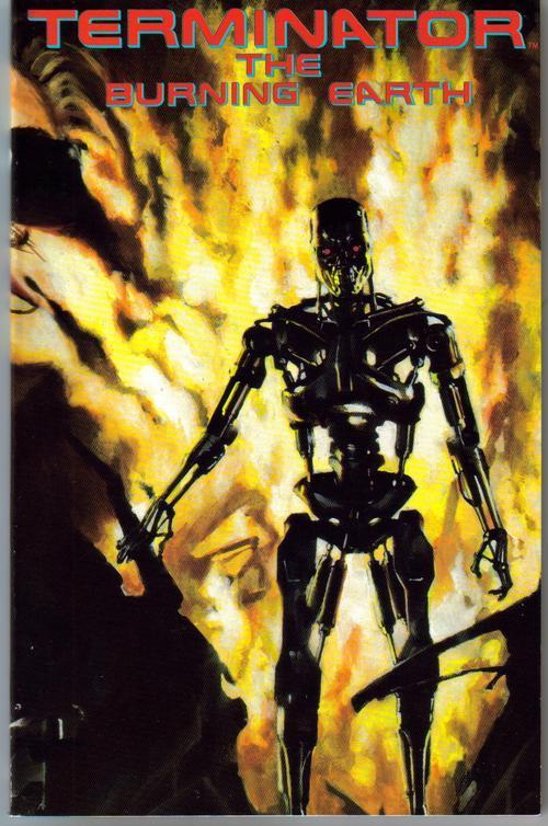Terminator burning earth