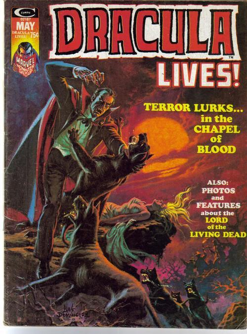 Dracula Lives #6 Terror Lurks Chapel Of Blood Photos Horror Terror
