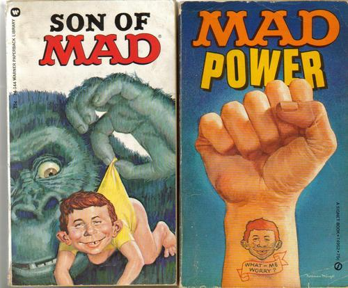 LOT OF 13 MAD PAPERBACK BOOKS 1958 TO 1975