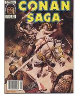 Marvel Conan Saga #29 VF Barbarian Cimmeria Stygia Warriors Action Adven... - $4.95
