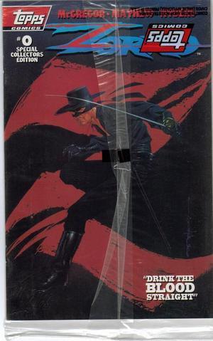 Topps Zorro #0 Collectors Item Bagged VF/NM Don Diego Bernardo Action Adventure