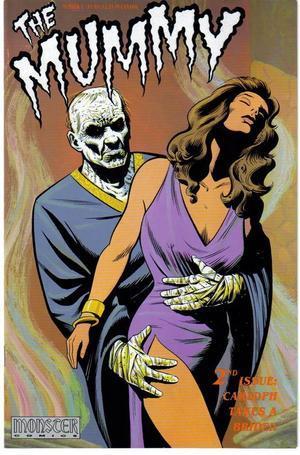 Monster Comics The Mummy 1-4 Set Egypt Horror Terror