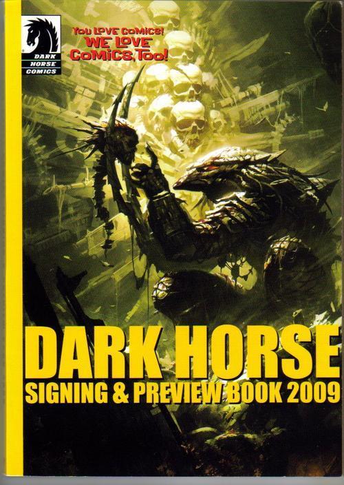 Dark horse preview