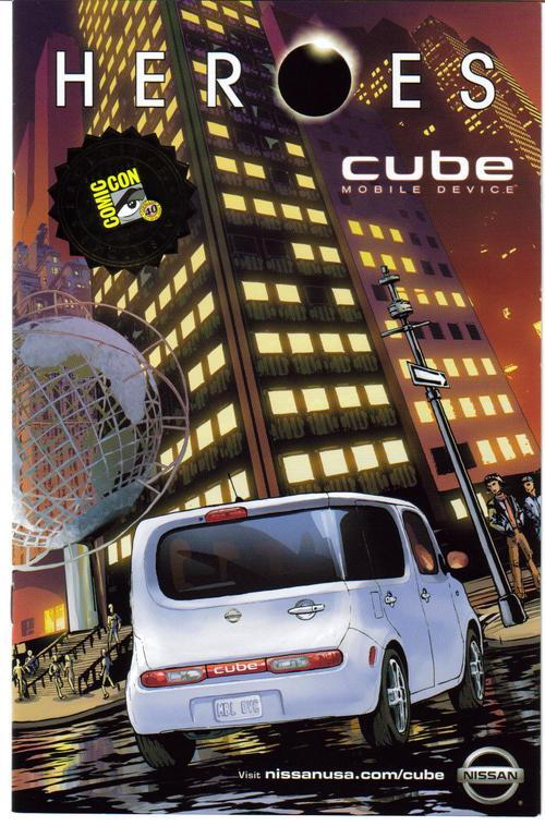 Primary image for SDCC 09 Heroes Exclusive Cube Mobile Device Promo Preview