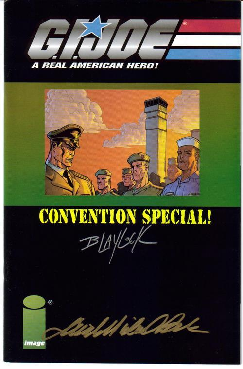 Image G.I.Joe Convention Special #1 Autographed Blaylock Beck