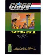 Image G.I.Joe Convention Special #1 Autographed Blaylock Beck - $19.95