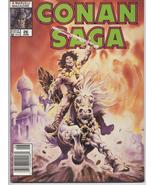 Conan Saga #26 VF Barbarian Cimmeria Stygia Warriors Action Adventure Wa... - $4.95