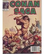 Conan Saga #27 VF Barbarian Cimmeria Stygia Warriors Action Adventure Wa... - $4.95