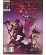 Conan Saga #28 VF Barbarian Cimmeria Stygia Warriors Action Adventure Wa... - $4.95