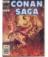 Conan Saga #30 VF Barbarian Cimmeria Stygia Warriors Action Adventure - $4.95