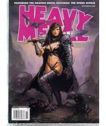 Heavy Metal Magazine Nov 2008 Felicidad New Sealed - $9.95
