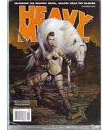 Heavy Metal Magazine Nov 09 Arawn Bran The Damned - $7.96