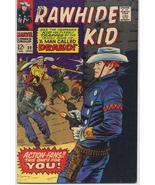 Marvel Rawhide Kid #59 A Man Called DRAKO Dick Ayers Art Western Outlaw  - $10.95
