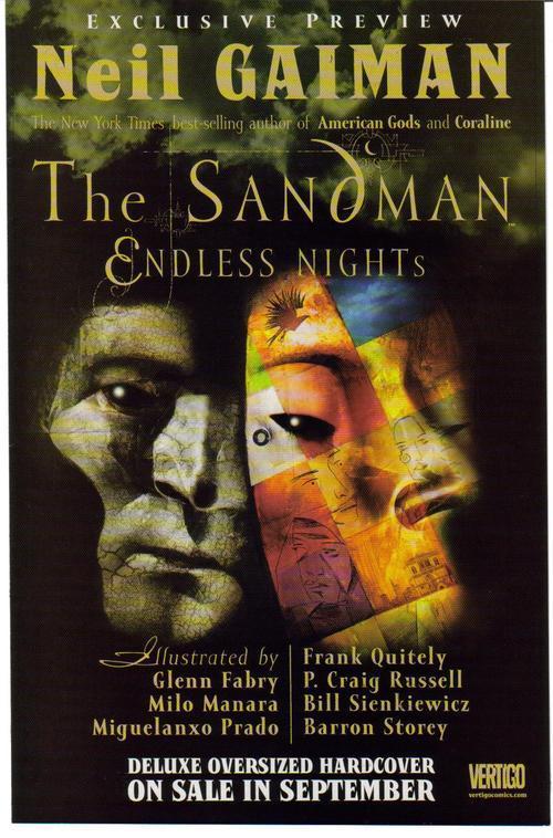 Sandman promo