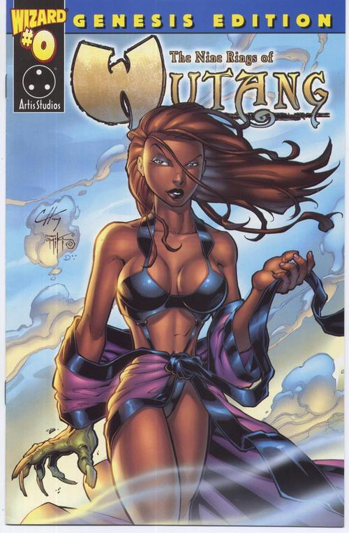 Wizard #0 Genesis Edition Nine Rings Of Wutang