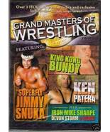 Grand Masters Of Wrestling Vol. 1 King Kong Bundy DVD - $3.96