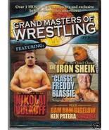 Grand Masters Of Wrestling Vol.2 Iron Sheik F Blassie DVD - $3.96