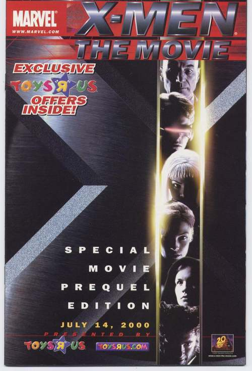 Marvel X-MEN Special Movie Prequel Promo Edition VF/NM RARE!!!
