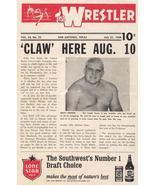 1968 The Wrestler V24 #22 Fritz Von Erich Dusty Rhodes WWE Gary Hart Spo... - $15.96