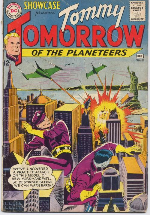 DC 1963 SHOWCASE #46 TOMMY TOMORROW Of The Planeteers Action Adventure