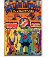 DC 1966 Metamorpho The Element Man #5 Action Adventure Mystery - $9.95