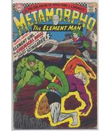 DC 1967 METAMORPHO THE ELEMENT MAN #10 VERY GOOD Chemical Doll Adventure... - $11.95