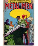 METAL MEN #23 Rage Of The Lizard Platinum Tin Mercury - $4.95