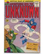 ACG 1965 ADVENTURES INTO THE UNKNOWN #156 Mighty Nemesis - $10.95