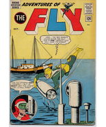 Archie Comics 1963 Adventures Of The Fly #28 VG Tommy Troy Fly vs Red Shark - $7.95