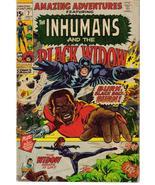Marvel Amazing Adventures #7 Inhumans Black Widow Black Bolt Action Adve... - $9.95