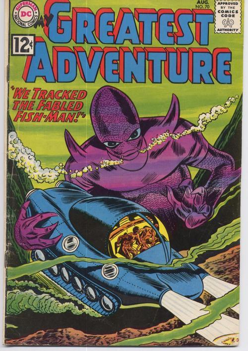My greatest adventure  70