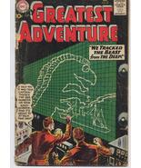 DC My Greatest Adventure #50 Sci Fi Horror We Tracked The Beast From The... - $9.95