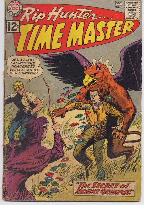 DC Rip Hunter Time Master #11 Calypso Sorceress Mt. Olympus