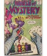 DC 1962 House Of Mystery #127 POOR Horror Sci Fi Cosmic Game Of Doom - $4.95