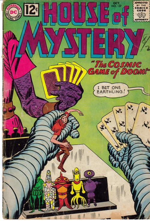 DC House Of Mystery #127 Cosmic Game Of Doom  SCI FI Horror