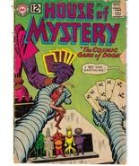 DC House Of Mystery #127 Sci-Fi Horror Monster Terror Cosmic Game Of Doom - $4.95