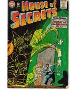 DC House Of Secrets #64 Threat Of Horrible Hex Mark Merlin Action Advent... - $11.95