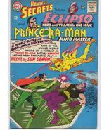 DC House Of Secrets #76 Eclipso Prince Ra-Man Horror Helio The Sun Demon - $9.95