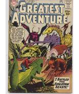 DC My Greatest Adventure #54 Horror Sci Fi Adventure Monster Horror Terror - $8.95