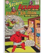 DC House Of Secrets #75 Eclipso Prince Ra-Man Horror Giant Brain Trap - $9.95