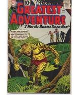 DC My Greatest Adventure #59  Sci Fi Horror Series I was The Burma Tiger... - $7.95