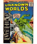 ACG Unknown Worlds #29 Hero Among The Stars Hated Man Horror Terror - $4.95