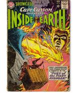 DC Showcase #49 Cave Carson Inside Earth Fury Of Avenger - $4.95