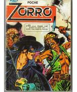 Poche Zorro #103 M Roubinet J Pape Pulp Book French Action Adventure - $12.95