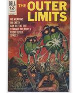Dell Comics The Outer Limits #17 TV Reprints #1 Action Adventure Horror - $6.95