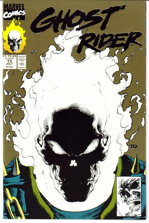 Marvel Ghost Rider #15 Johnny Blaze Glow in Dark Both Covers Action Adventure