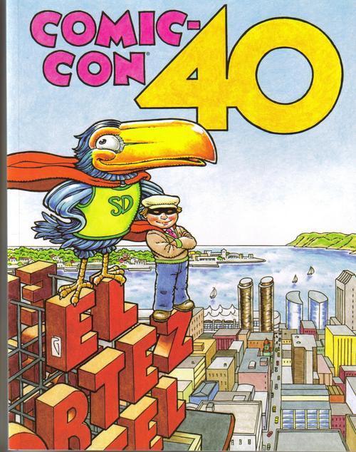 Comic con 40th