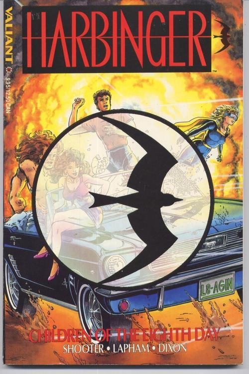 Valiant Harbinger Children Of The Eighth Day TPB  Shooter Lapham Dixon