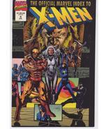 Marvel Official Marvel Index To X-Men #4 Uncanny X-men 178-23 Action Adv... - $5.95